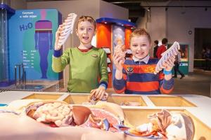 Открытие выставки «Биоэкспериментаниум»