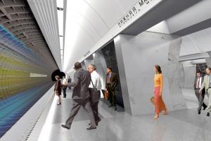 Посмотрите, как будут выглядеть три новые станции метро