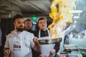 Лед и пламя: как прошел гастрономический фестиваль Ikra
