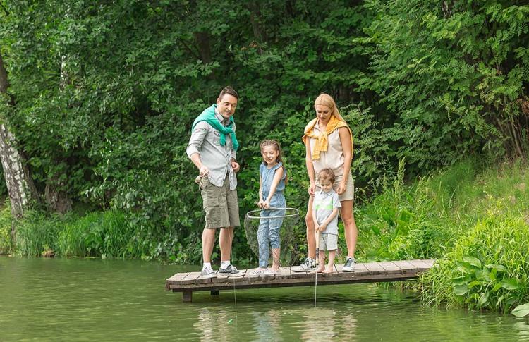 10 мест для весенней рыбалки