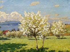 Время Весна