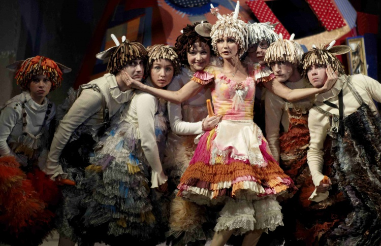 Детский мюзикл театра Алексея Рыбникова «Волк и семеро козлят»