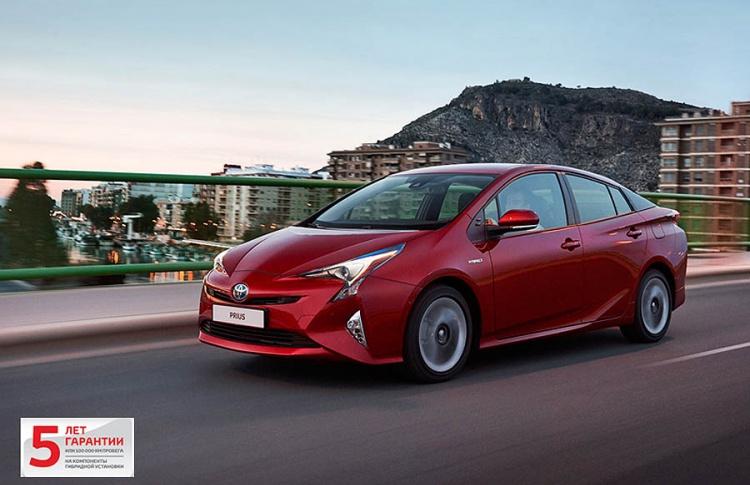 Новый Prius доступен в дилерских центрах Тойота в России