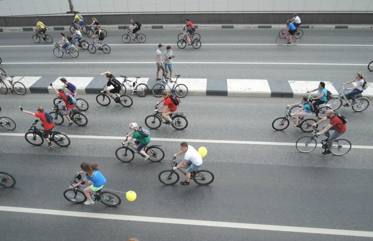 В Москве пройдет Всероссийский велопарад