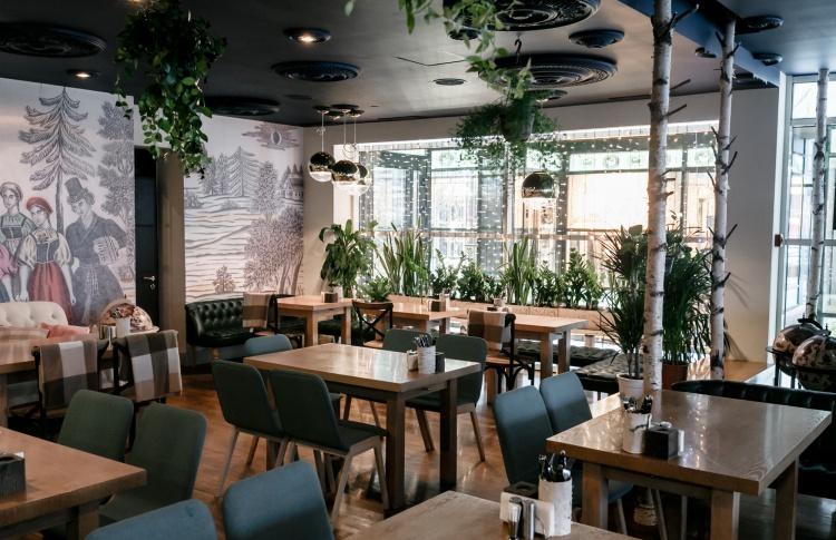 В «Аптекарском огороде» открылась закусочная Beriozka