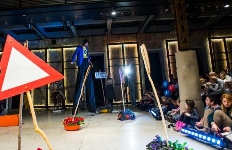 Детский спектакль на английском языке Jumb… Lee… Ya в Электротеатре «Станиславский»