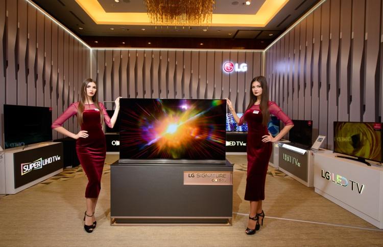 Презентация модельного ряда LG Electronics 2017 года в России