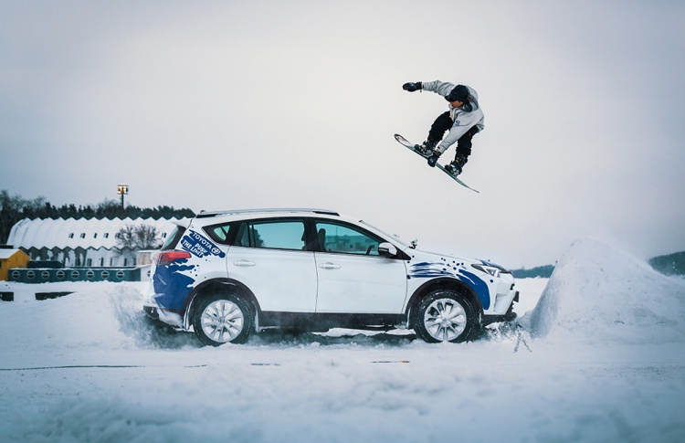 Toyota создаст «снежную бурю» на самом масштабном спортивно-музыкальном фестивале России