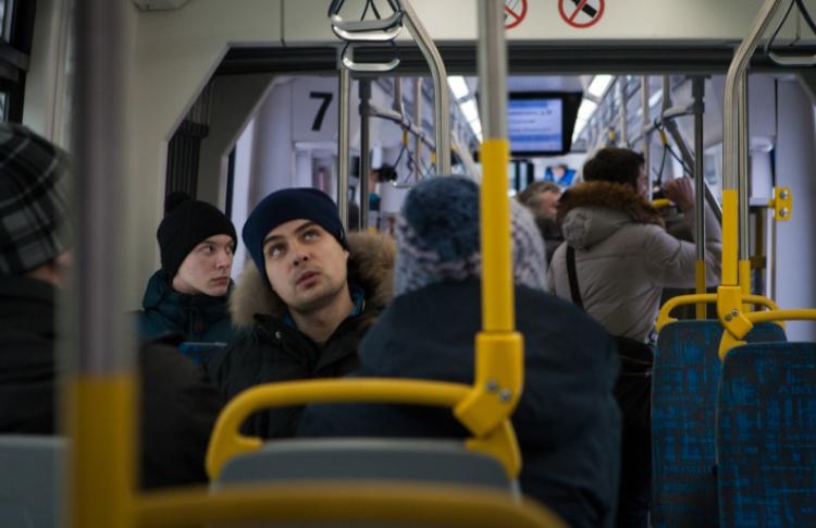 Покататься на новом трамвае