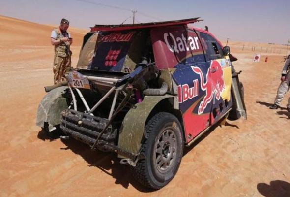 Драма в пустыне: Нассер Аль-Аттия остановился в шаге от победы на ралли-рейде Desert Challenge в Абу-Даби - Фото №3