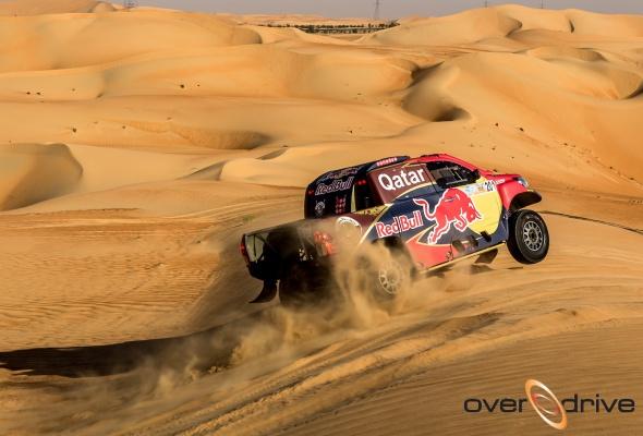 Драма в пустыне: Нассер Аль-Аттия остановился в шаге от победы на ралли-рейде Desert Challenge в Абу-Даби - Фото №0