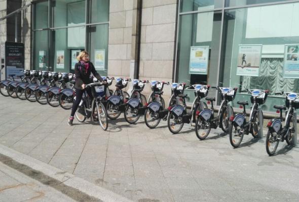 Пятый сезон городского проката велосипедов открыт - Фото №1