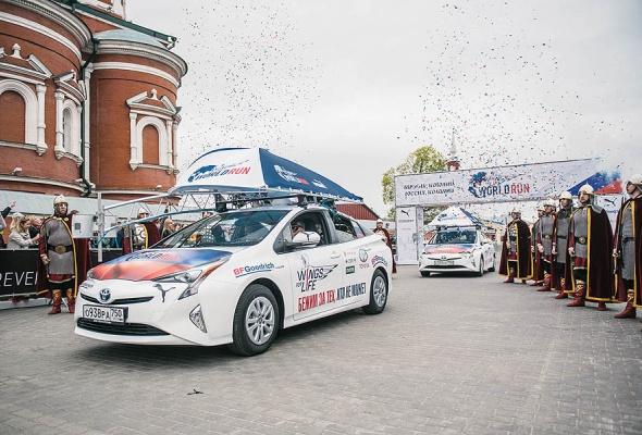 Догнать чтобы наградить: 1,5 тысячи участников, 27 тысяч километров и Toyota Prius - Фото №9