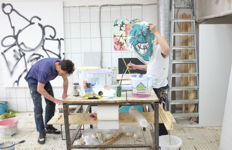 На «Винзаводе» пройдет выставка французских стрит-арт-художников