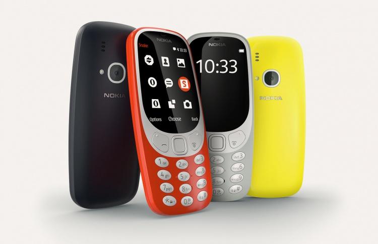 В России начались продажи обновленной Nokia 3310