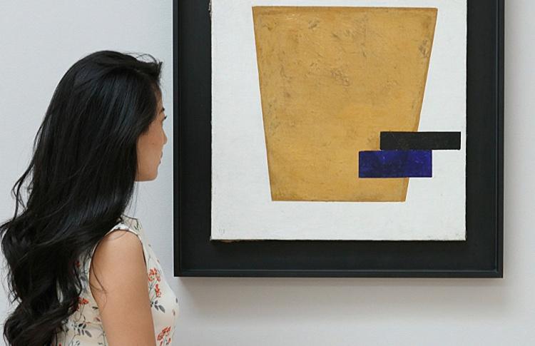 Картина Малевича стала самой дорогой работой на аукционе Sotheby's