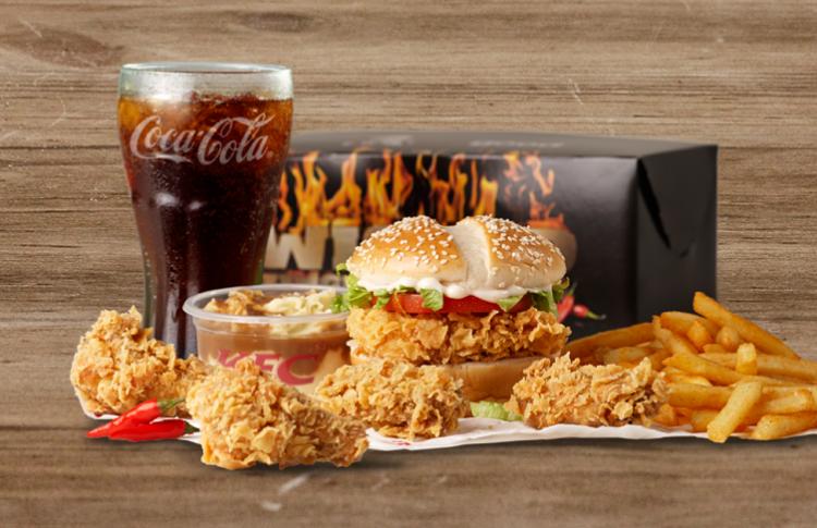Сеть ресторанов KFC тестирует в России доставку еды на дом