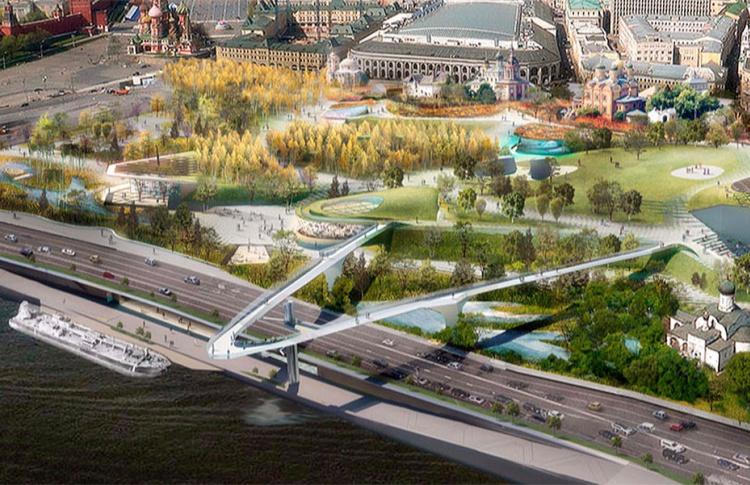 Студия Лебедева разработает фирменный стиль для парка «Зарядье»