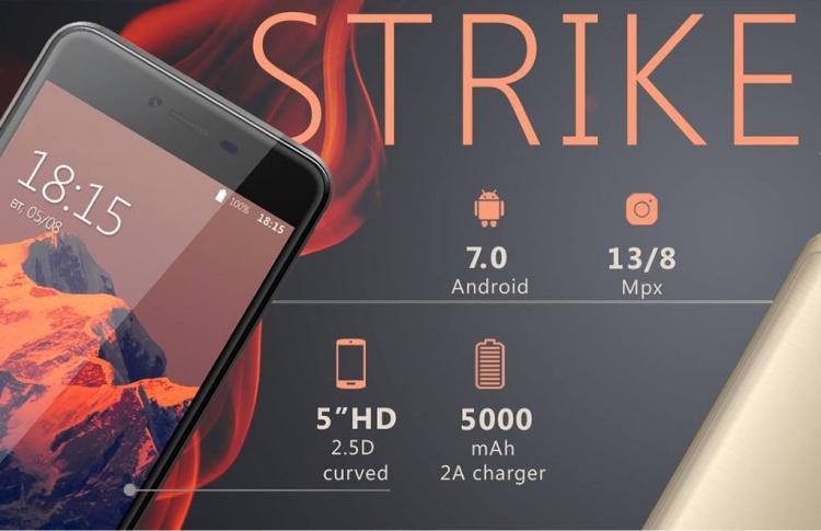 Российский бренд электроники BQ объявил о старте продаж нового смартфона с мощной батареей BQ-5059 Strike Power