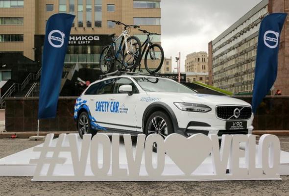 Около 40 тысяч велосипедистов оценили «умные» технологии безопасного движения от Volvo Car Russia - Фото №6