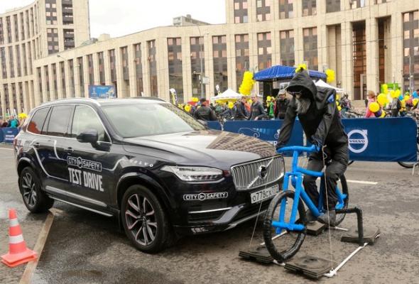 Около 40 тысяч велосипедистов оценили «умные» технологии безопасного движения от Volvo Car Russia - Фото №4
