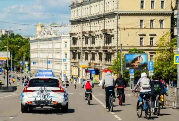 Около 40 тысяч велосипедистов оценили «умные» технологии безопасного движения от Volvo Car Russia - Фото №3