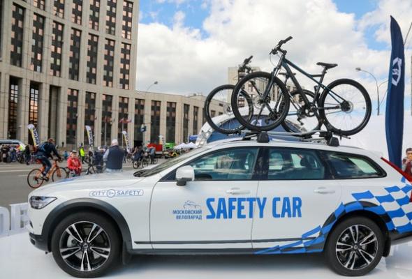Около 40 тысяч велосипедистов оценили «умные» технологии безопасного движения от Volvo Car Russia - Фото №0