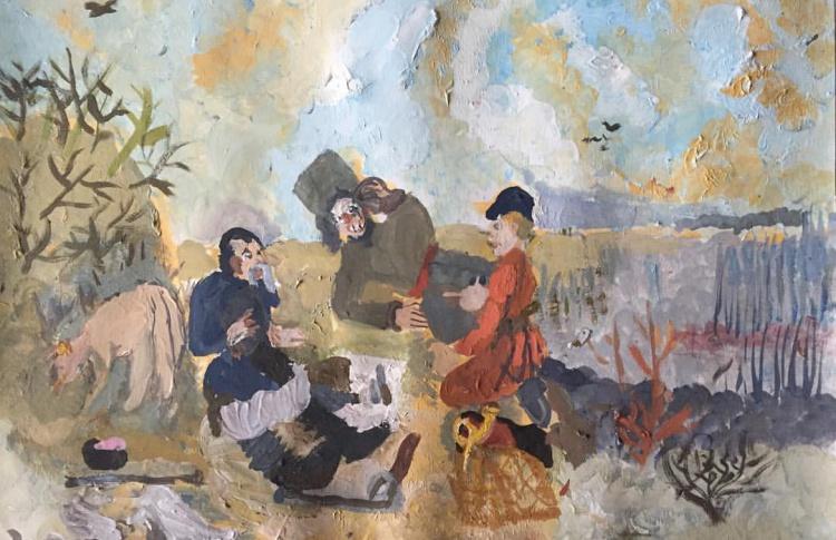 Выставка «Маленькая история русского искусства»