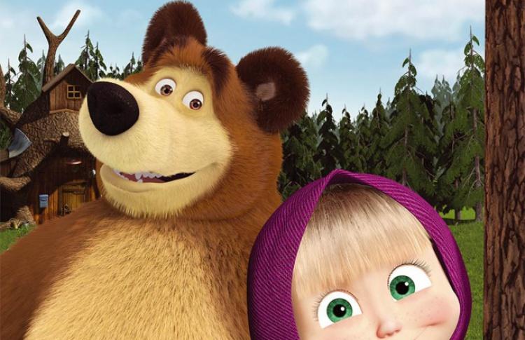 Маша и медведь. Новые истории
