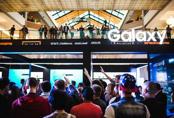 Samsung Galaxy Studio открылась в ТЦ «Метрополис» - Фото №0