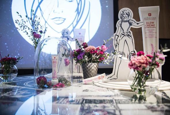 Культовый корейско-французский бренд Erborian запустил долгожданную новинку Glow-крем для лица в Московском Планетарии! - Фото №2