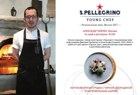 Объявлен список полуфиналистов регионального этапа конкурса S. Pellegrino Young Chef 2018 - Фото №1