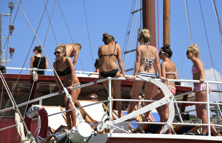 Устроить вечеринку на яхте