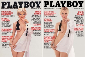 Cемь моделей Playboy воссоздали свои знаменитые обложки 70-90-х годов