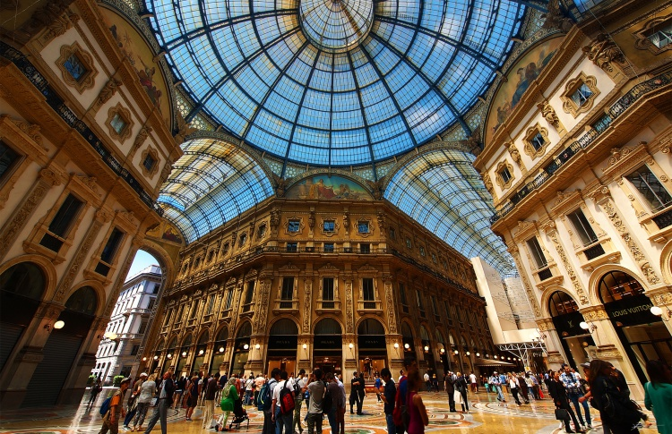 Полететь в Милан