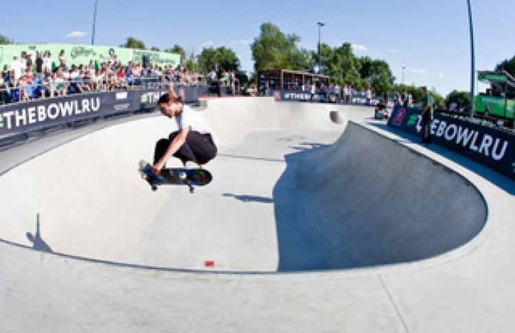 В июне в Москве пройдет фестиваль скейтбординга The Bowl