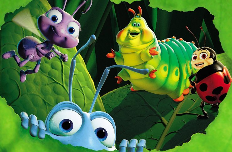 Pixar мультфильмы
