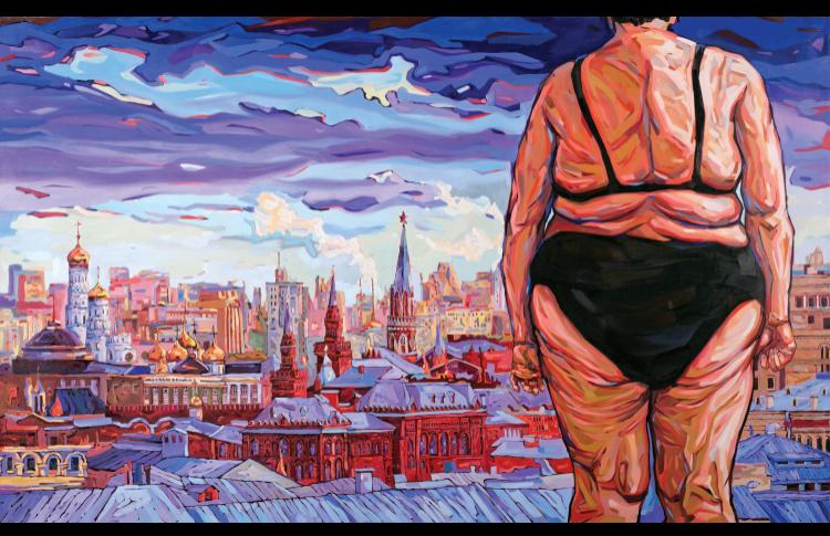 Когда Сергей Шнуров превратился в художника?