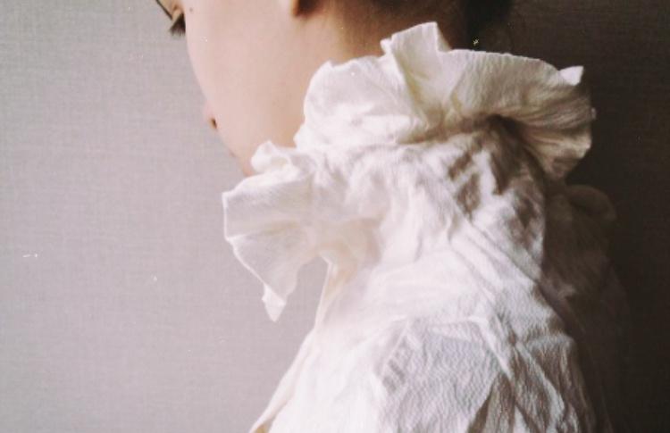 Блузка Alexander McQueen из крепового шелка
