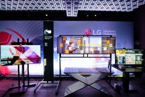 Презентация профессиональных панелей LG: широкие возможности для бизнеса