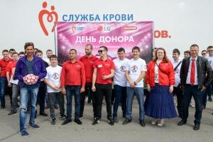Футбольный марафон LG и «Эльдорадо» в Поволжье  с Русланом Ниматуллиным