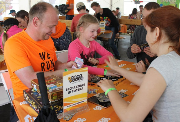 Мятные выходные: посетители «Дикой Мяты» сыграли в настольные игры с Hobby Games  - Фото №1