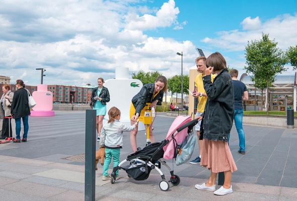 Бренд Lacoste устраивает летний перформанс в парке искусств «Музеон» - Фото №5