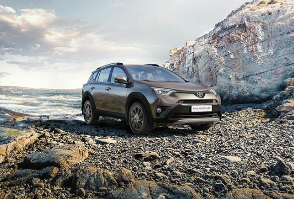 Стартовали продажи Toyota RAV4 в специальной серии Adventure - Фото №0