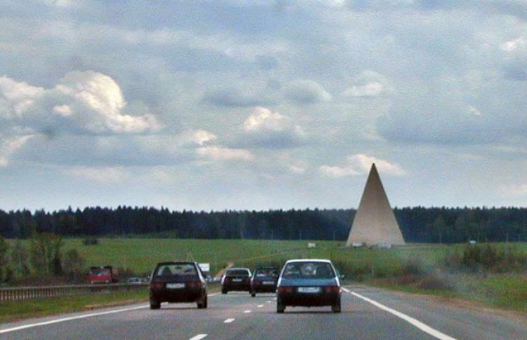 В Подмосковье восстановлена пирамида инженера Голода