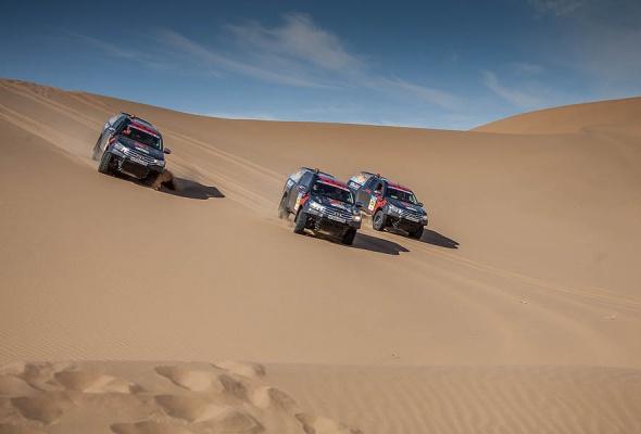 Вызов брошен: 3 самых сложных участка ралли «Шелковый путь» названы в честь Toyota  - Фото №2