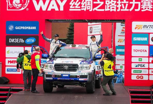 Вызов брошен: 3 самых сложных участка ралли «Шелковый путь» названы в честь Toyota  - Фото №1
