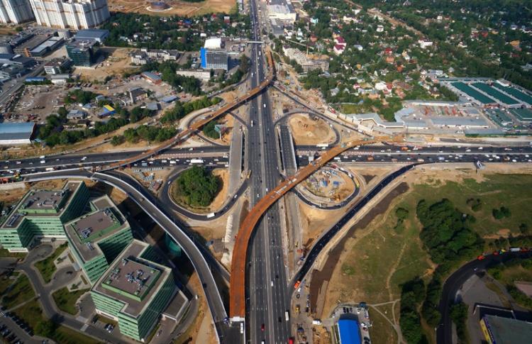 Власти Москвы построят 10 млн квадратных метров недвижимости вдоль МКАД
