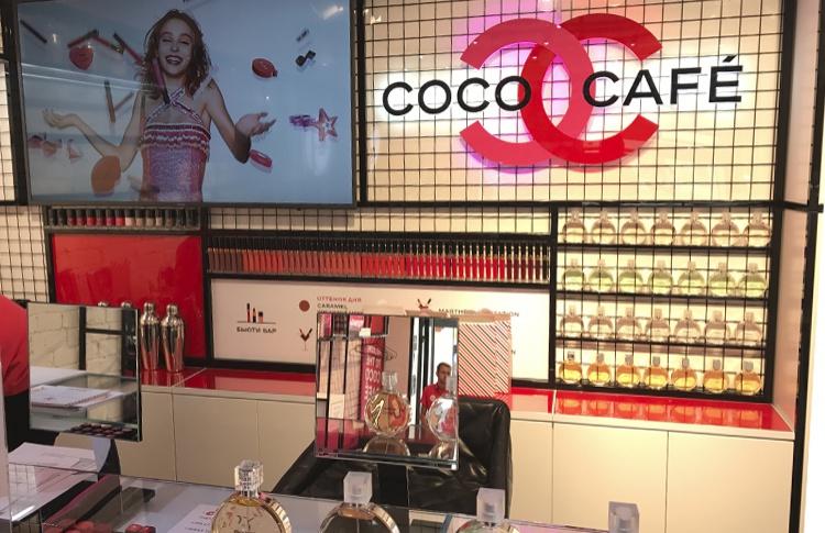 Новое место: Pop-up бутик парфюмерии и косметики Chanel на Патриарших