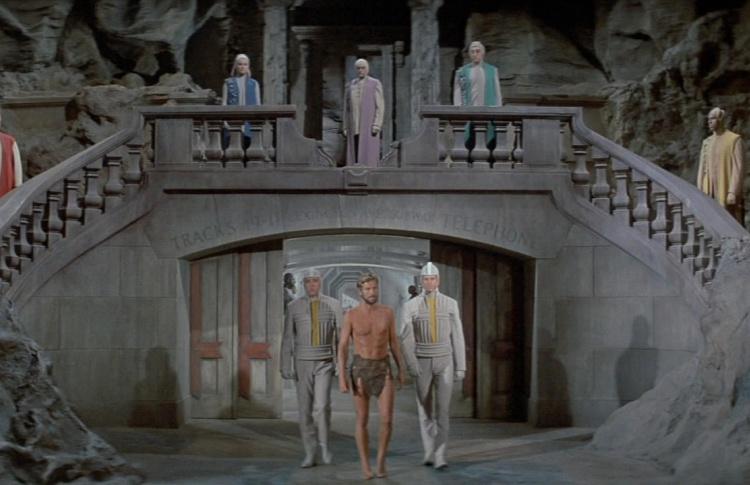 9. Под планетой обезьян (1970)